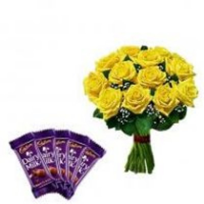 Combo Gifts Online Delivery Anniversary Birthday Cake Flowers