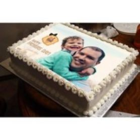 Fathers Photo Printed Cake Rs104900